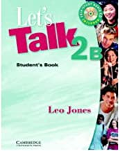 [ [ [ Let's Talk 2B Student's Book [With CD (Audio)][ LET'S TALK 2B STUDENT'S BOOK [WITH CD (AUDIO)] ] By Jones, Leo ( Author )Jan-01-2003 Paperback