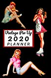 Vintage Pin-Up 2020 Planner: Small Pocket Calendar 5.06 x 7.81...