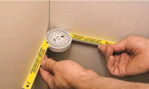 Miter Saw Protractor replace Starrett the model #505P-7 for carpenters, Ruler (Inch) on Carpentry, Renovation Work, Home Improvement and More Building Trades