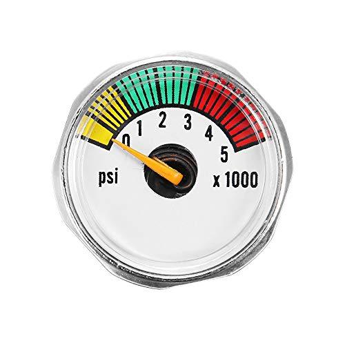 CHIMAKA Alloy 5000 PSI Micro Paintball Luft-CO2-Tankmanometer 1 / 8NPT-Gewinde Neues DIY Zubehör