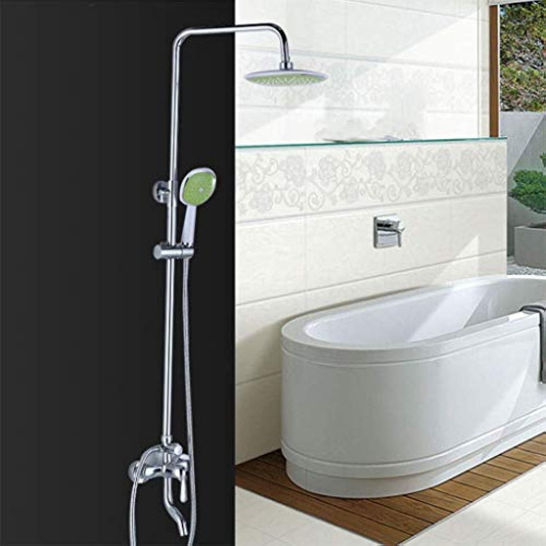 LHW Shower Set Che Set, Bad, Bad, WC, Quadrat, Kupfer, Dusche, Lift, Dusche Set, Dusche, Wandhalterung