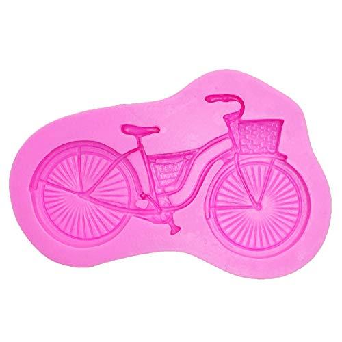 Bemomo Stampo in Silicone A Forma di Bicicletta, Utilizzato per Caramelle, Cioccolato, Decorazione di Torte Fondenti E Cottura di Utensili per Biciclette di Seconda Mano