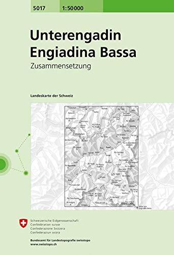 Swisstopo 1 : 50 000 Unterengadin Engiadina Bassa: Zusammensetzung (National Map Composite)