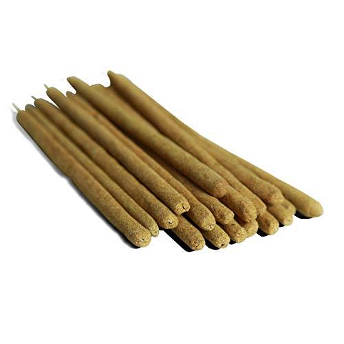 Incienso estilo palillos de madera Palo Santo - 18 palillos de 6 centímetros y 20 centímetros -...