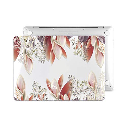 Floral Laptop Case for Air A2337 A2179 2020 Pro 13 16 inch Touch bar A2289 A2141 A2338 Plastic Hard Case Keybaord Skin-Z514-Model (A1502 A1425)
