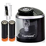Best Battery Operated Pencil Sharpeners - Electric Pencil Sharpener, Battery-Powered, Batteries Included, High-Speed Automatic Review