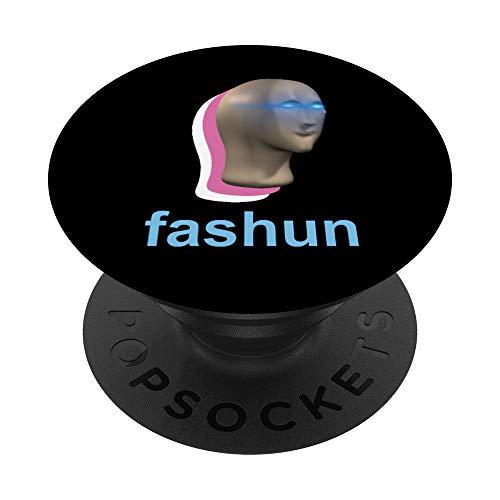 Fashun Meme Hombre VaporWave PopSockets PopGrip: Agarre intercambiable para Teléfonos y Tabletas