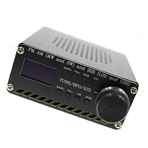Radio Receiver Vollbereich- Receiver Si4732 Fm Am Ssb Airband Funkempfänger Scanner Beweglicher Hand Radio Recorder Schwarz Industrial Control Components
