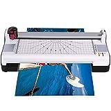 HJRD Plastificadora,A3 Laminador 13 Pulgadas Plastificadora Plastificadora térmica para Uso en el hogar Oficina Escolar, Cortador de Papel/Laminado de Esquinas Redondeadas para A3 / A4 / A6