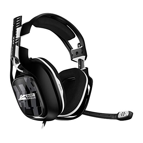 ASTRO Gaming A40 TR Édition League CALL OF DUTY, Casque Gamer, 4ème génération, ASTRO Audio V2, Dolby ATMOS pour PC, 3, Micro Détachable, Xbox X|S|One, PS5, PS4, Switch, PC - Noir /Blanco, Blanca