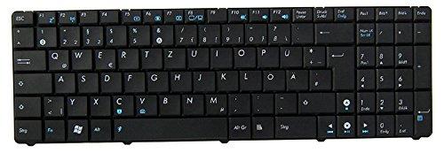 NExpert deutsche QWERTZ Tastatur für ASUS A72 A72D A72DR A72F A72JK/R Series Schwarz DE NEU