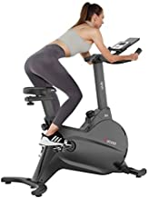 Indoor Cycling Bike with Magnetic Resistance Stationary Exercise Bikes, Quiet Belt Drive with LCD Monitor for Home Cardio Workout Bike Training Bike