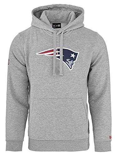 New Era - NFL New England Patriots Team Logo Hoodie - Grey - 4XL