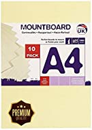 A4 (210mm x 297mm) Two sided bleached uncoated board Colour shade - Off White Made from 100% primary fibre from sustainable forests (PEFC certified) Very High absorption & bulk - 480gsm Suitable for Litho, Screen Print and Letterpressand various craf...