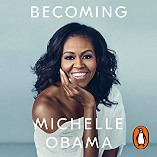 Becoming                   By:                                                                                                                                 Michelle Obama                               Narrated by:                                                                                                                                 Michelle Obama                      Length: 19 hrs and 3 mins     12,960 ratings     Overall 4.9