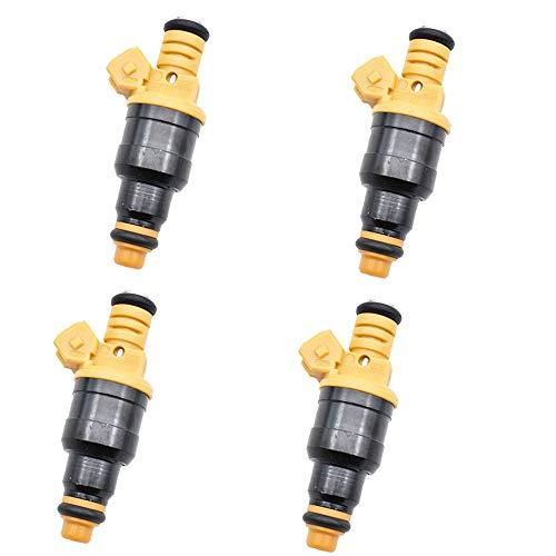 XIWEIG 4pc Combustible Inyector Boquilla 0280150702 / FIT FOR - Alfa Romeo / 155 156 164 2.5 3.0 V6 24V 0 280 150 702 Dispositivo De Inyección De Combustible