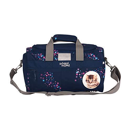 Sporttasche für Mädchen und Jungen - Schultertasche, Schwimmtasche, Reisetasche (Leni (Hund))