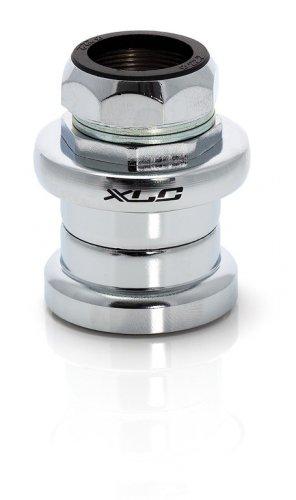 XLC Jeu de Direction HS Unisexe de S01 Diamètre 22,2/34.0 mm Accessoires, Mixte, 2500500200, Chrome, 27.0 mm