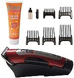 Haarschneidemaschine, Haarschneider mit Akku, 5 Aufsätze für verschiedene Schnittlängen, zwei...