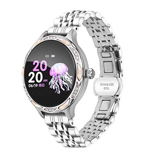 ZYDZ M9 LADAS Smart Watch IP68 IP68 Reloj de Bluetooth Impermeable Tasa de corazón Monitor de sueño Monitor de Fitness Tracker Smart Girl Pulsera para Android iOS vs KW10,B
