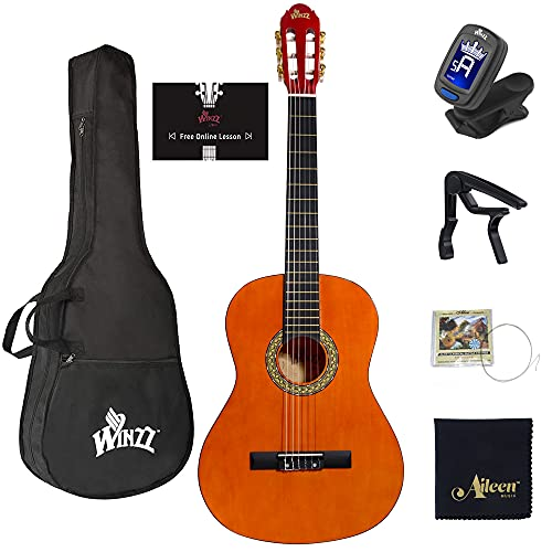 WINZZ 39 Inches Classical Guitar