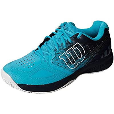 Wilson Kaos Comp 2.0, Zapatilla de Tenis para Todo Tipo de Terreno, tenistas de Cualquier Nivel Hombre, Azul/Azul Claro/Blanco, 40 1/3 EU