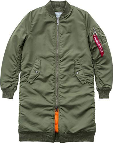 Alpha Industries MA-1 Rib Damen Mantel Oliv XS