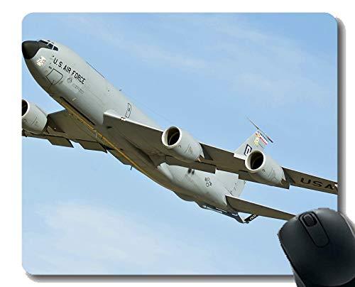 Cojín de ratón del Juego, cojín de ratón del Ordenador portátil de la Fuerza aérea Boeing KC 135 Stratotanker Cojín de ratón del Juego