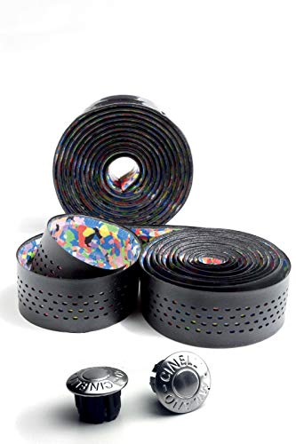 Cinelli Caleido Ribbon stuurband zwart 2017 bar tape