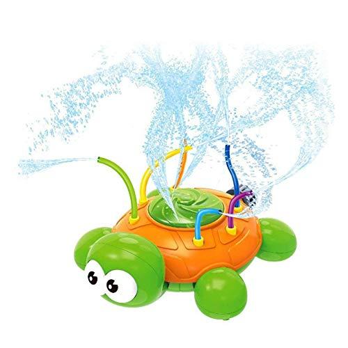 NA Gel Nail Spruzzatore per i Bambini, Turtle Pool Giocattolo spruzzatore di Acqua, Giocattolo di spruzzatore con Wiggle Tubi, per Backyard, Prato, Giochi all'aperto Spray Giocattolo dell'Acqua