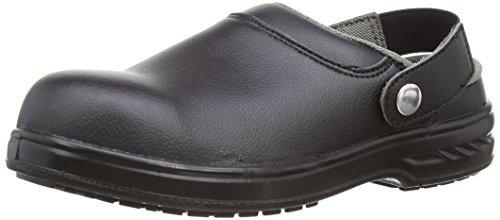 Portwest Steelite Safety Clog SB AE WRU, Chaussures de sécurité homme - Noir (Black), 43 EU