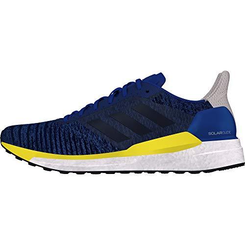 adidas Solar Glide M, Scarpe da Trail Running Uomo, Blu (Reauni/Tinley/Amasho 000), 40 2/3 EU