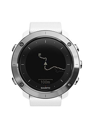 Suunto - Traverse - SS021842000 - Reloj GPS Outdoor para excursionismo y senderismo - Sumergible - Blanco - Talla única