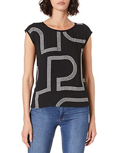 Street One Damen 316403 T Shirt, Schwarz, 42 EU