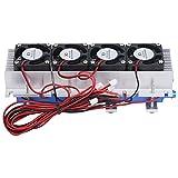 Enfriador termoeléctrico, 288W Peltier Enfriador de refrigeración termoeléctrico DC 12V Semiconductor Aire acondicionado Sistema de enfriamiento Kit de bricolaje