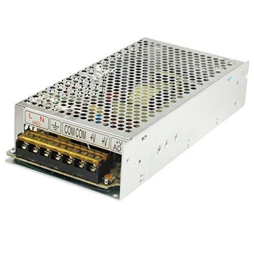 DealMux AC 110V / 220V a DC 24V 5A 120W Transformador de Fuente de alimentación conmutada Convertidor para Luces de Tira LED, CCTV, Radio, Computer Project