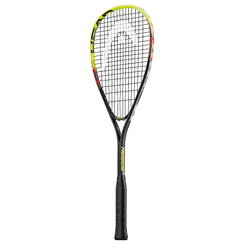 HEAD Spark Elite Squash Racquet, Black/Blue, One Size