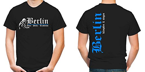 Berlin Ehre & Stolz T-Shirt | Fussball | Ultras | FB (L)