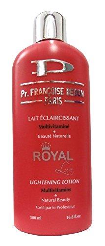 Pr. Francoise Bedon ROYAL Lait éclaircissant multivitaminé - Beauté naturelle - 500 ml