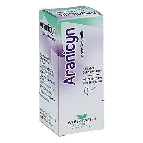 Preisvergleich Produktbild Aranicyn Leber Gallemittel Tropfen Zum Einnehmen,  50 ml