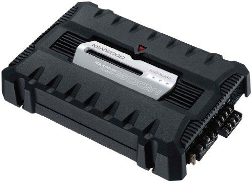 Kenwood Electronics KAC-6404 Negro - Receptor AV (94 dB, 10000 Ω, 0,2 V, 160 W, 5-50000 Hz, 2,7 kg)