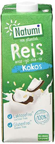 Natumi Reis Drink Kokos Bio, 12er Pack (12 x 1.049 l)