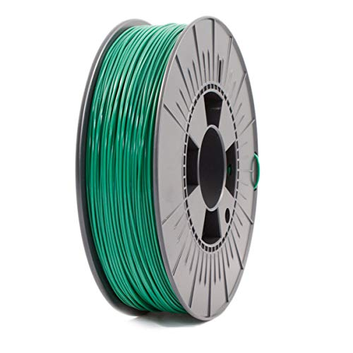 ICE Filaments ICEFIL1PLA108 PLA filament, 1.75mm, 0.75 kg, Daring Darkgreen