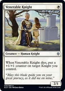 Magic: The Gathering - Venerable Knight - Throne of Eldraine