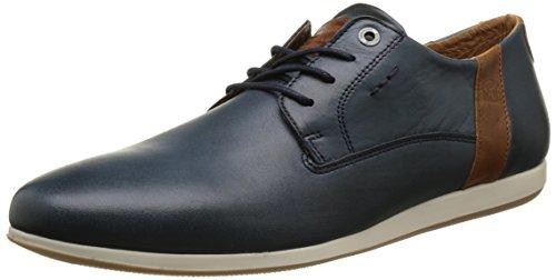 Redskins WADDENI, Zapatos de Cordones Derby Hombre, Azul Marino Cognac, 40 EU