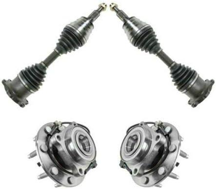 JENCH 4PC Steering Kit CV Axle Wheel Fees free Portland Mall Hub Assembli Bearing Shafts