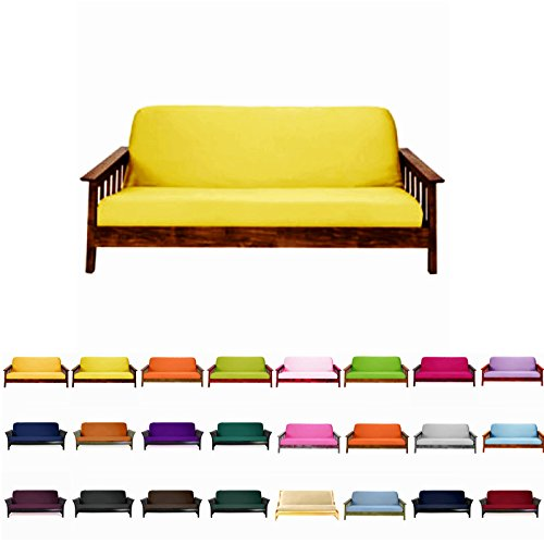Magshion@Futon Cover Slipcover (Sunshine, Full (54x75 in.))