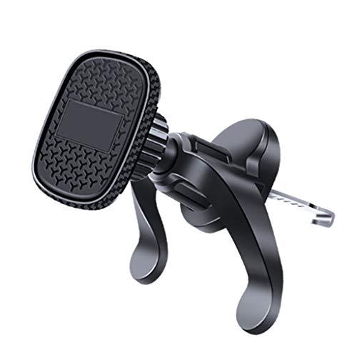 sweetWU Soporte magnético para teléfono de coche para rejilla de ventilación de aire y soporte para GPS
