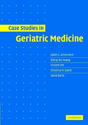 Case Studies in Geriatric Medicine: 9780521531757: Medicine & Health