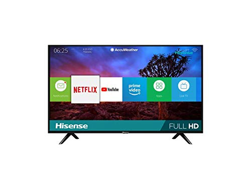 Hisense 43H5F Smart TV 43\', 1080p, Built-in Wi-Fi, 2020, Color Negro